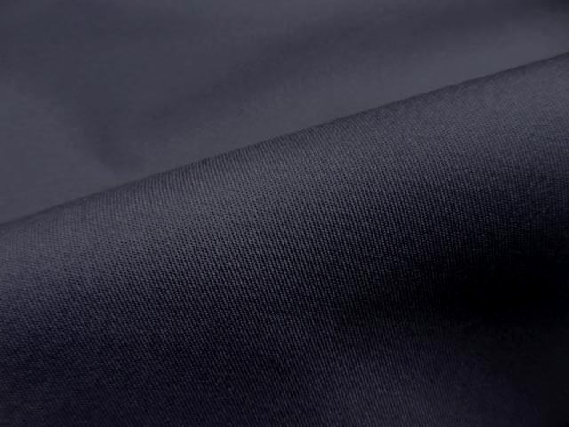 Gabardine coton melangee gris anthacite 2