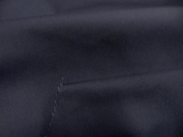 Gabardine coton melangee gris anthacite 3