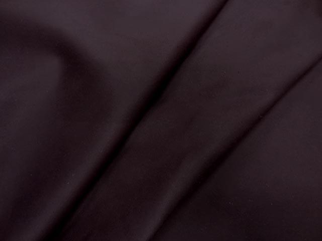 Gabardine lycra en coton prune 0