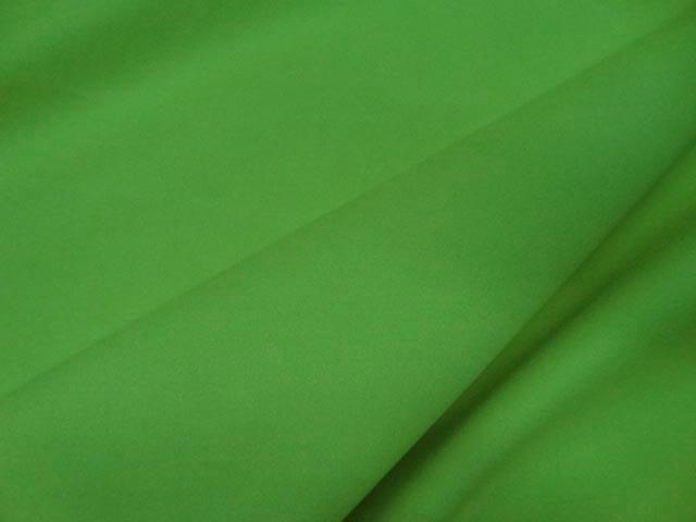 Gabardine lycra en coton vert anis3b