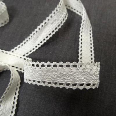 Galon ruban festonne blanc casse 2