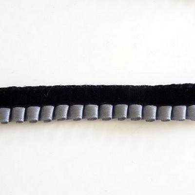 Galon tsarine gris et noir 2