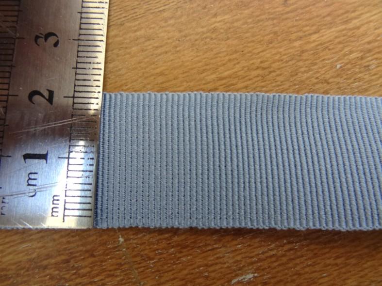 Gros grain bleu ciel 22 mm 2