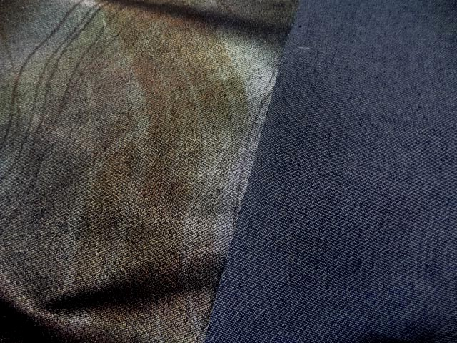 Jean lycra imprime dore metal0 3