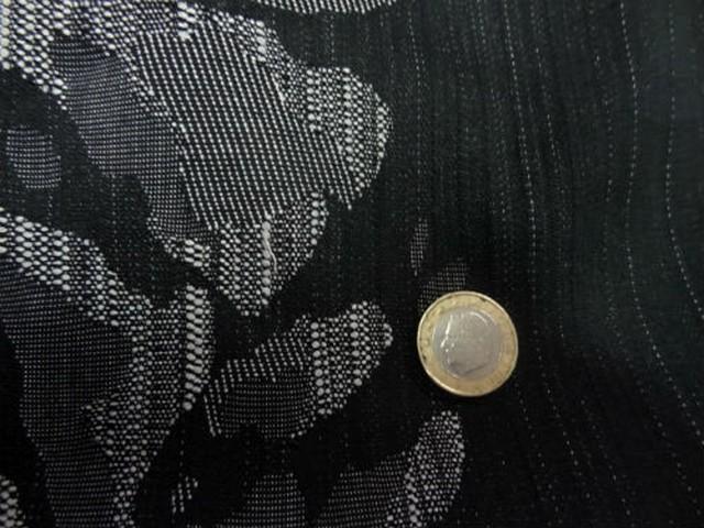 Jean lycra reversible noir gris 1