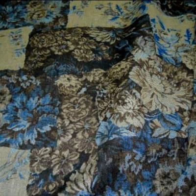Jean lycra reversible uni et patchwork 1