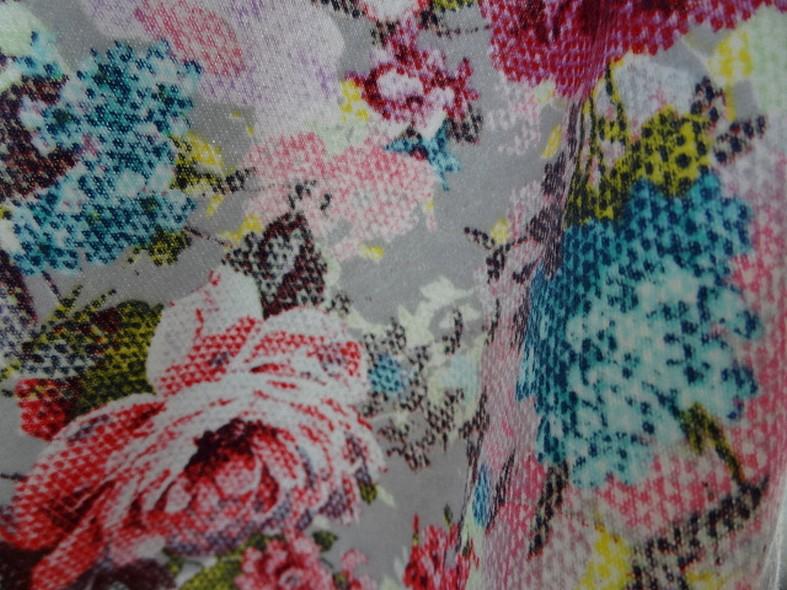 Jersey coton gratte fleurs canevas 4