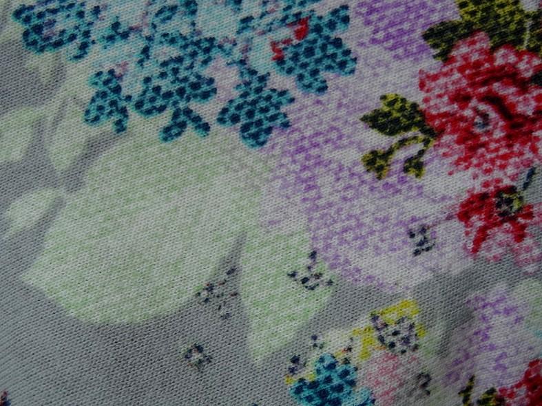 Jersey coton gratte fleurs canevas 5
