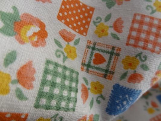 Jersey coton imprimé tablier 02