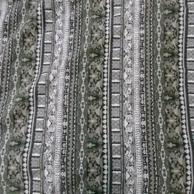 Jersey coton lourd ethnique 05
