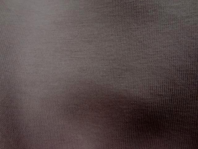 Jersey coton lycra beige taupe 2