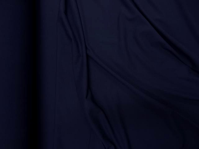 Jersey coton lycra bleu nuit 1