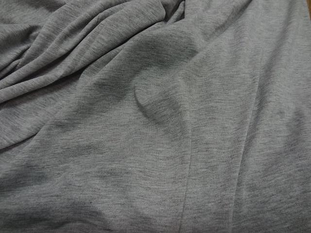 Jersey coton lycra gris chine 1