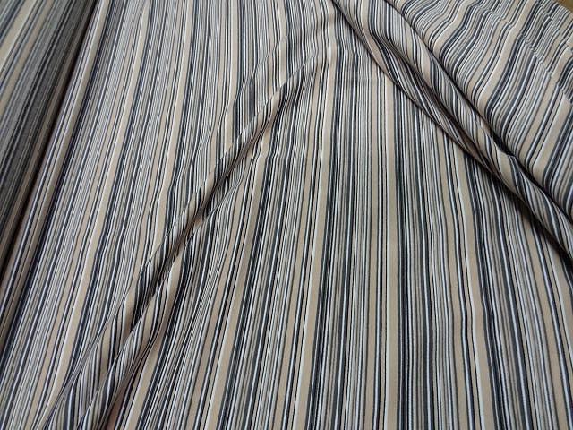 Jersey coton lycra raye beige gris8