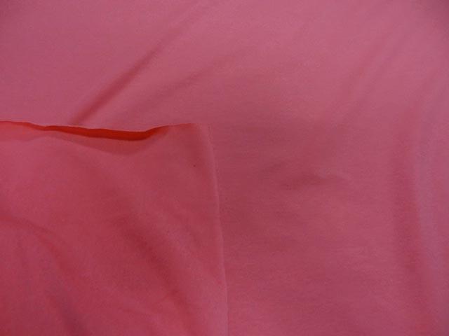 Jersey coton lycra rose saumon fonce4