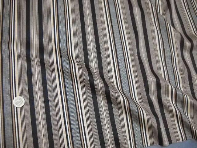 Jersey coton raye bisque noir 3