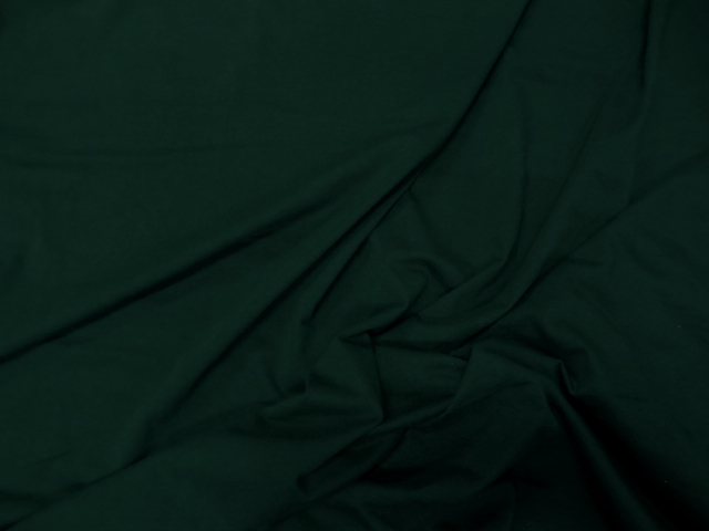 Jersey coton vert epinard 2