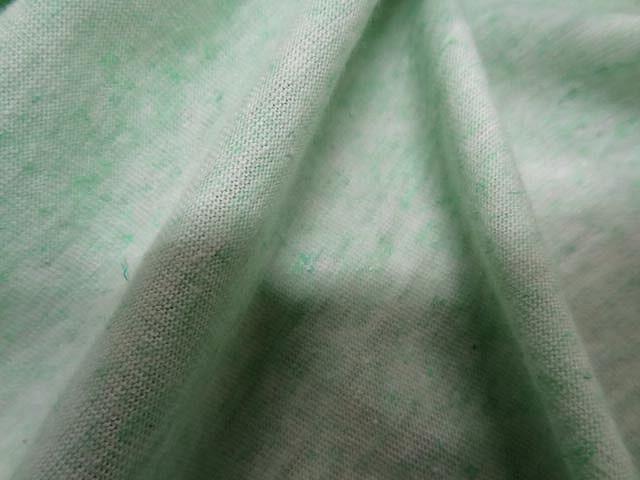 Jersey coton vert menthe a l eau chine 2