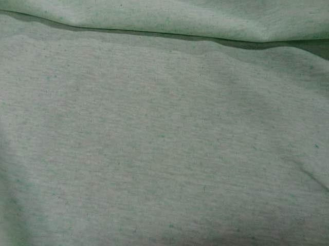 Jersey coton vert menthe a l eau chine 3