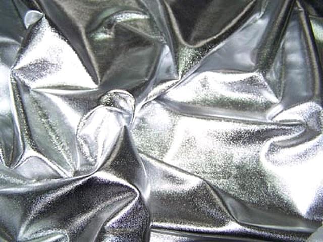 Jersey fin lame couleur argent 2