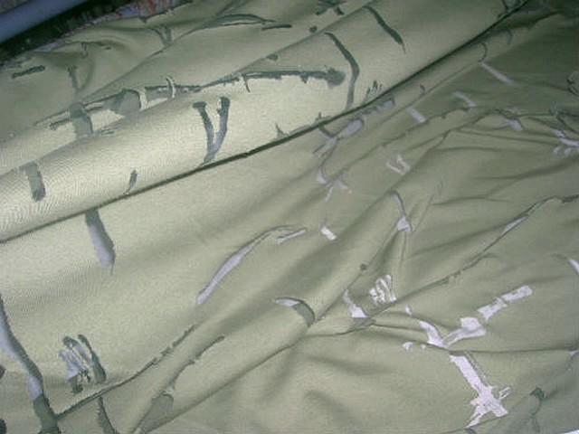 Jersey kaki clair devore resille moderne 2
