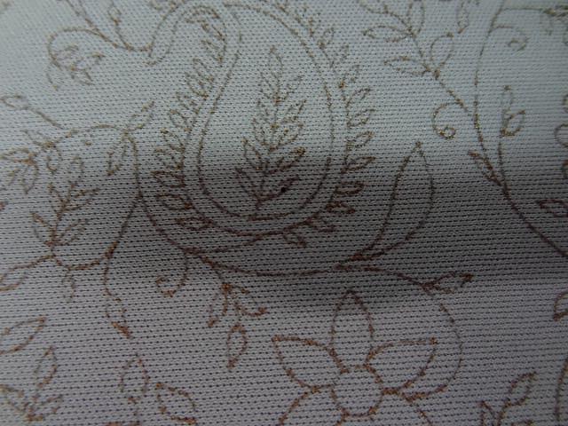 Jersey lycra gris perle cachemire fleuri 4