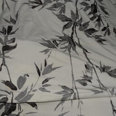 Jersey lycra mélangé bambous gris 1