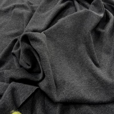 Jersey viscose elasthanne gris anthracite 1