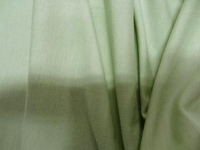 Jersey viscose lycra vert d eau 3