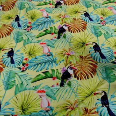 Jersey viscose toucan et cacatoes 2