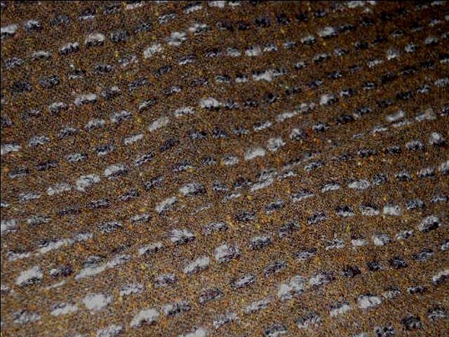 Lainage alezan rayures en pointilles epais gris chine 3