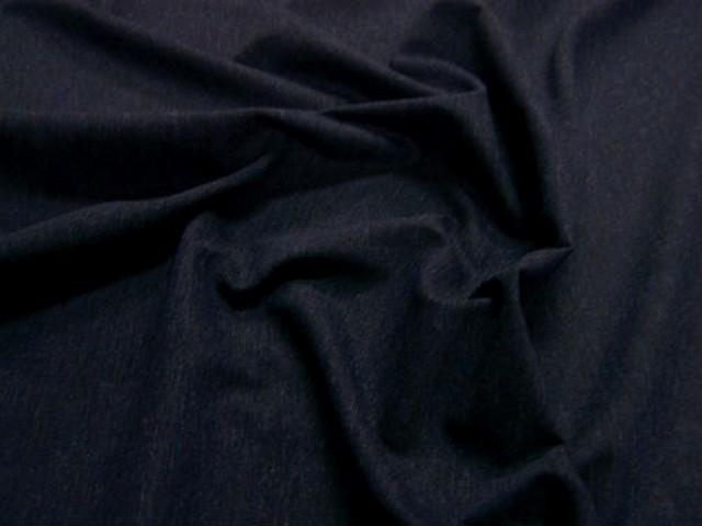 Lainage lycra bleu de prusse chine 2