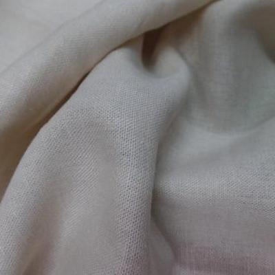 Lin coton blanc casse sable 2