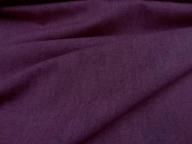 Lin coton chambray fuschia 0 3