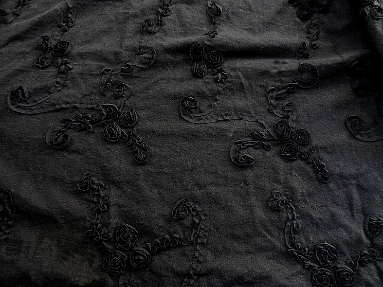 Lin noir brode boheme