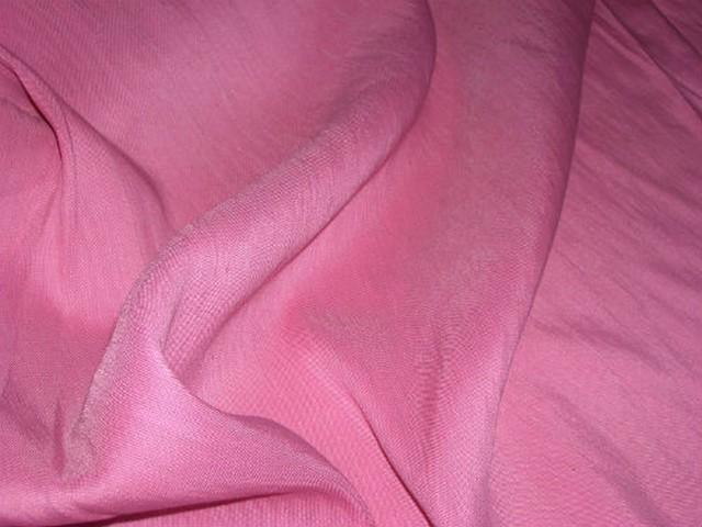 Lin polyester rose bonbon 2