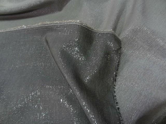 Lurex beige gris double face2
