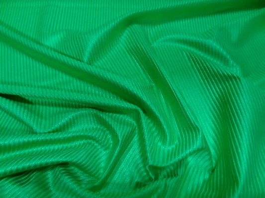 lycra à côtes vert prairie 2