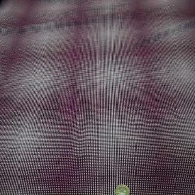 Lycra blanc magenta motif op art 1