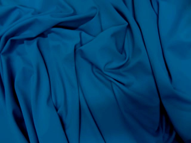 Lycra bleu electrique