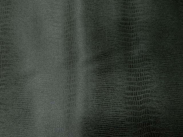 Lycra peau de serpent vert chrome