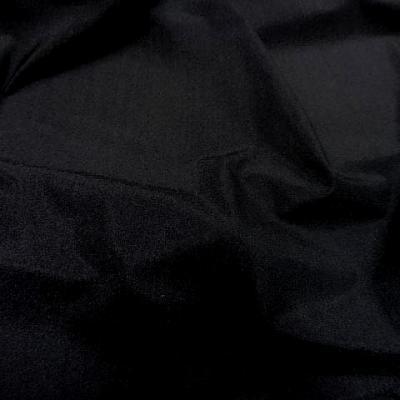 Lycra fin satine noir