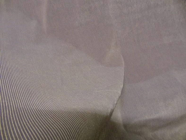 Lycra finement cotele teintes moirees lilas et or 2