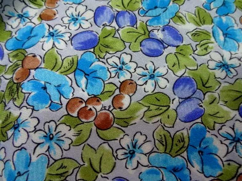 Lycra fleurettes bucoliques 1