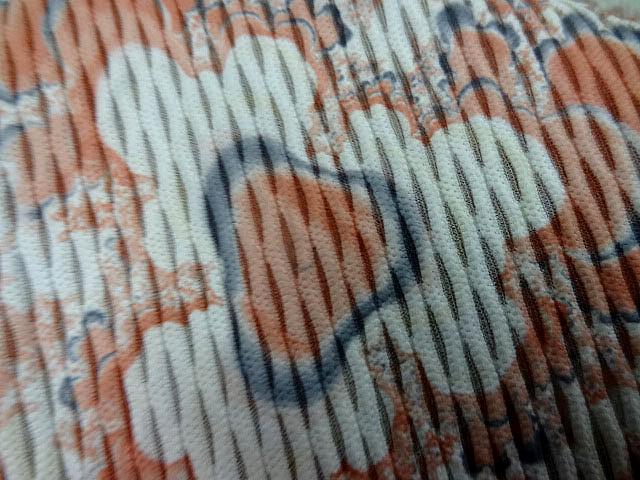 Lycra grege fleurs taches d encre 2