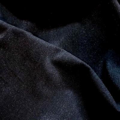Lycra gris fonce fines cotes paillete lurex 1
