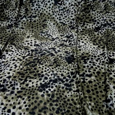Lycra imprime peau de leopard 1