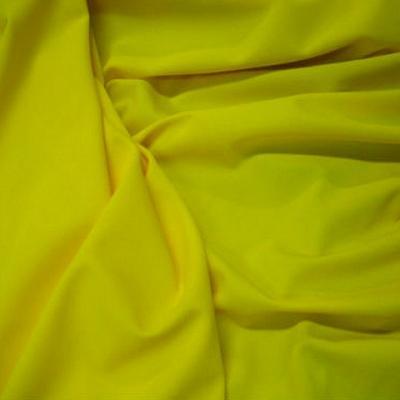 Lycra jaune bouton d or