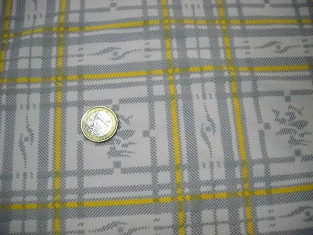 Lycra jaune et gris a carreaux paddle 1
