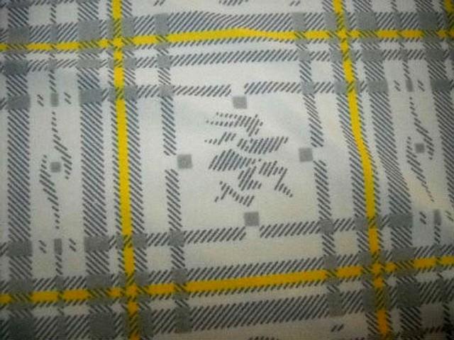 Lycra jaune et gris a carreaux paddle 2